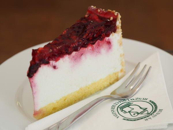 Gyümölcsös túró torta