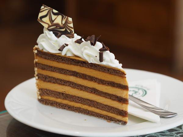 Kastély karamell torta